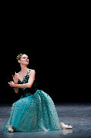 Laetitia Pujol of the Paris Opera Ballet in Emeralds from JEWELS